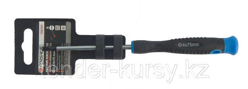 Forsage Отвертка шлицевая ювелирная SL2.0х75мм Forsage F-73307502 19531