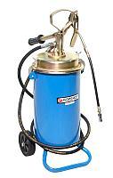 Forsage Ручной перекатной нагнетатель смазки под закладку 13кг(50:1, производительность: 0-0.75 л/мин,