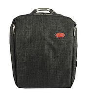 ROCKFORCE Сумка-рюкзак универсальная(жесткий каркас,утолщенные стенки для защиты ноутбука,выход для