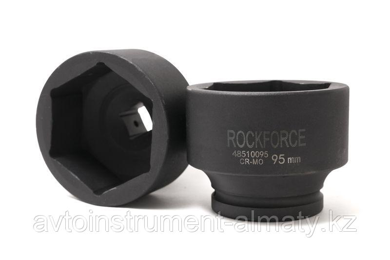 "ROCKFORCE Головка ударная глубокая 41мм 1"" 6гр. ROCKFORCE RF-48510041 7874"