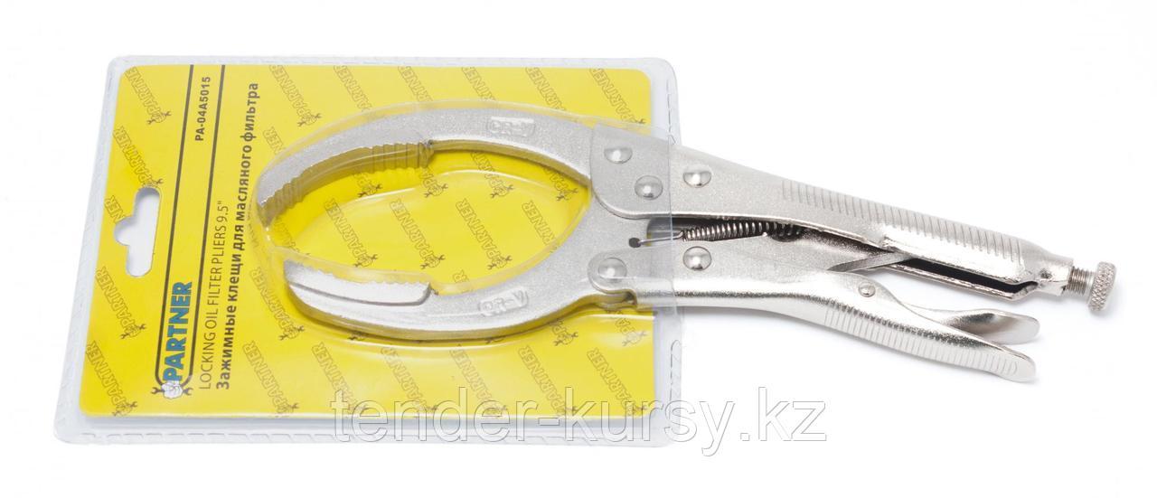 Partner Клещи для масляного фильтра с фиксатором (максимальный диаметр 110мм) Partner PA-639230 7368