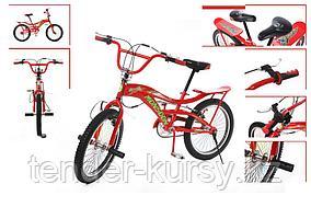 Forsage Велосипед подростковый трюковый с багажником(рама:сталь; вилка: regid, сталь; ободные тормоза; мягкое