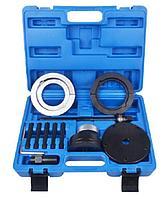 ROCKFORCE Съемник ступичных подшипников в комплекте с оправками VW Transporter (T5), Touareg, Multivan (85мм),