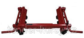 Forsage Тележка складная механическая для перемещения автомобиля с деформированным колесом Forsage F-WD1001