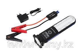 ROCKFORCE Фонарь светодиодный аккумуляторный с накопителем и функцией пуска