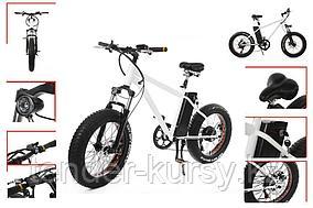 Forsage Электровелосипед ( 300Вт (36В); 10 Аh; рама - высокопрочная сталь; max скорость-35км/ч ;пробег на