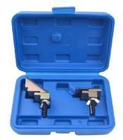 ROCKFORCE Набор приспособлений для снятия и установки гибких поликлиновых ремней, 2 предмета, в кейсе