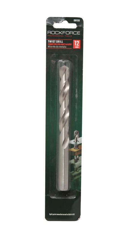 ROCKFORCE Сверло по металлу 11мм HSS, в блистере ROCKFORCE RF-DB110 29100