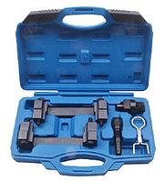 ROCKFORCE Набор фиксаторов для обслуживания двигателей группы VAG  (2.4, 3.2, 4.2, 5.2 FSI) 5 предметов, в