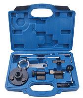 ROCKFORCE Набор фиксаторов для обслуживания двигателей группы VAG (1.6, 2.0 TDI) 10 предметов, в кейсе