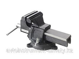"""Forsage Тиски стальные усиленные поворотные с наковальней 5""""-125мм Forsage F-6540905 18538"""