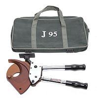 Forsage Кабелерез ручной с телескопическими ручками(медь/аллюминий/армированный кабель3х185мм2)в сумке Forsage