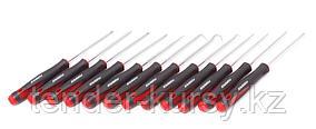 """Forsage Приспособления для снятия сальников """"крючки"""" в наборе с ювелирными отвертками, 12 предметов (SL2.5х75,"""