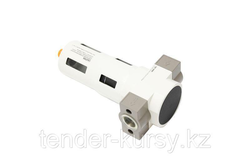 """ROCKFORCE Фильтр для пневмосистемы """"Profi"""" 3/8"""" (пропускная способность:2000 л/мин, давление max: 16 bar,"""