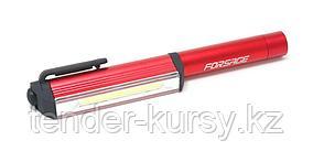 Forsage Фонарик переносной светодиодный в комплекте с батарейками (CUB, 3xAAA), в блистере Forsage F-01X0041