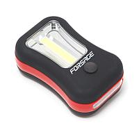 Forsage Фонарик переносной светодиодный в комплекте с батарейками (торцевой свет 4LED, боковой свет CUB,