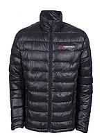 Forsage Куртка болоньевая с электроподогревом водоотталкивающая(р.48-50, черная, АКБ:5V, 2A, от 10000 mAh, 3