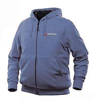 ROCKFORCE Куртка с электроподогревом водоотталкивающая(р.44-46, черная, АКБ:5V, 2A, от 10000 mAh, 3 режима