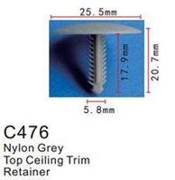 Forsage Клипса для крепления внутренней обшивки а/м Форд пластиковая (100шт/уп.) Forsage клипса F-C476(Ford)