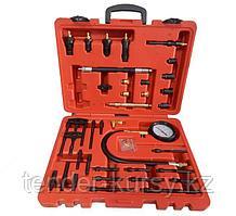 Forsage Тестер компрессии для дизельных двигателей универсальный с комплектом адаптеров 47 предметов, в кейсе