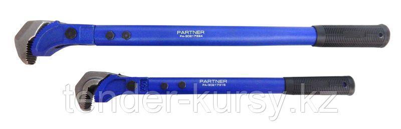 "Partner Ключ трубный самозажимной 24""-600мм (15-45мм) Partner PA-30217324 17472"
