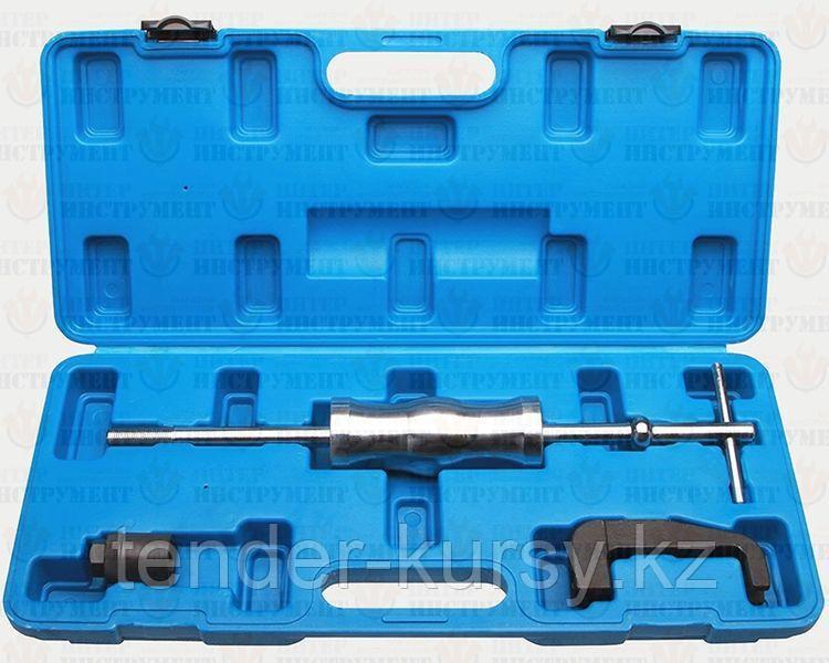 ROCKFORCE Комплект для снятия дизельных форсунок Mercedes-Benz 3 предмета (ОМ611, ОМ612, ОМ613) в кейсе