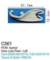 Forsage Клипса для крепления внутренней обшивки а/м Форд пластиковая (100шт/уп.) Forsage клипса F-C561(Ford)