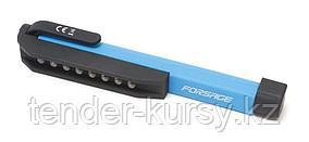 Forsage Фонарик переносной светодиодный в комплекте с батарейками (8LED, 3xAAA), в блистере Forsage F-01X0004