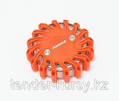 Forsage Фонарь переносной светодиодный с магнитом (9 световых режимов, 16 LED, 1хCR23) Forsage F-01151 15360