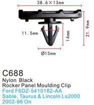 Forsage Клипса для крепления внутренней обшивки а/м Форд пластиковая (100шт/уп.) Forsage клипса F-C688(Ford)