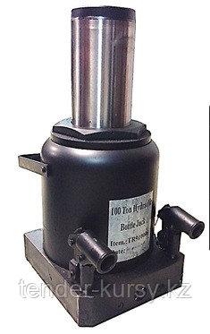 ROCKFORCE Домкрат бутылочный  100т (высота подхвата - 335мм, высота подъема - 515мм, ход штока - 180мм)