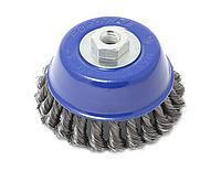 Forsage Кордщетка чашеобразная стальная витая для УШМ 125мм, в блистере Forsage F-BWC105 19919