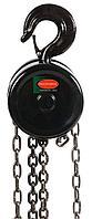 ROCKFORCE Лебедка механическая подвесная с фиксацией цепи натяжения, 1т (длина цепи - 2.5м) в кейсе ROCKFORCE