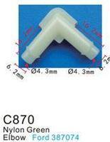 Forsage Клипса для крепления внутренней обшивки а/м Форд пластиковая (100шт/уп.) Forsage клипса F-C870(Ford)