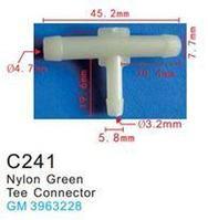 Forsage Клипса для крепления внутренней обшивки а/м GM пластиковая (100шт/уп.) Forsage клипса C0241(GM) 14422