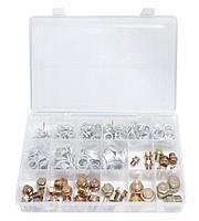 Forsage Набор  маслосливных пробок с шайбами, 534 предмета(М10, М12-М16, М18, М20), в кейсе Forsage F-04J1063