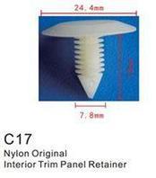 Forsage Клипса для крепления внутренней обшивки а/м GM пластиковая (100шт/уп.) Forsage клипса F-C17( GM )