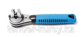 Forsage Ключ торцевой трещоточный многофунциональный с прорезиненной рукояткой (6-24мм) Forsage F-802334U