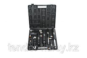 ROCKFORCE Комплект цилиндров гидравлических прямого и обратного действия 2т, 4т, 5т, 10т в пластиковом кейсе 7