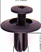 Forsage Клипса для крепления внутренней обшивки а/м GM пластиковая (100шт/уп.) Forsage клипса F-C34( GM )