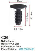 Forsage Клипса для крепления внутренней обшивки а/м GM пластиковая (100шт/уп.) Forsage клипса F-C36( GM )