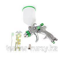 Partner Краскораспылитель с верхним пластиковым бачком (600мл, 1.4мм, 3.5bar, 100-128 л/мин, присоед. резьба