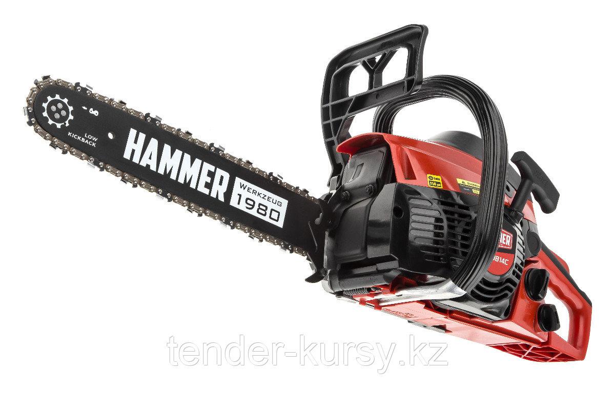 "Hammer 569549 Бензопила Hammer BPL3814C  1,47кВт/2лс 38см3 шина 14"" цепь 3/8""-1,3мм-52 5кг Hammer BPL3814C"