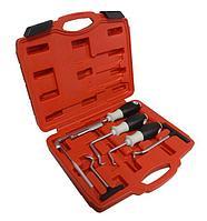 Forsage Набор крючков для демонтажа уплотнительных колец и сальников 6 предметов, в кейсе Forsage F-04A1023