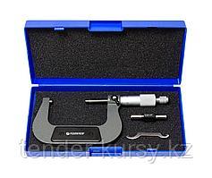 Forsage Микрометр (50-75мм, 0.01мм), в пластиковом футляре Forsage F-5096P9075 18052