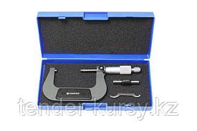 Forsage Микрометр (75-100мм, 0.01мм), в пластиковом футляре Forsage F-5096P9100 18054