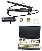 ROCKFORCE Набор гидравлического оборудования для кузовных работ, 20т, 17 предметов (насос, цилиндр + комплект