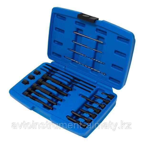 Forsage Набор инструментов извлечения электродов свечей накаливания, 22 предмета (M8, M10), в кейсе Forsage