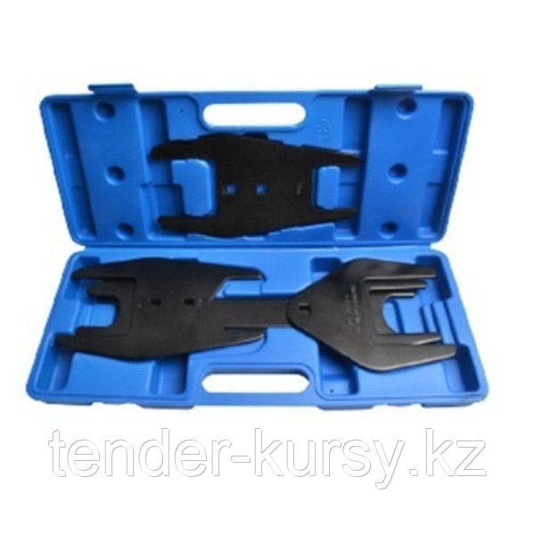 """ROCKFORCE Набор ключей для муфты вентиляторов 1/2"""", 5 предметов(36, 40, 48, 54, 57, 68, 72, 76, 82мм), в кейсе"""