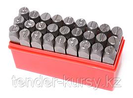Forsage Набор штампов буквенных 5мм, 27 предметов, в пластиковом футляре Forsage F-02705 16314